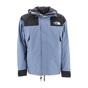 The North Face Light Blue Nylon Outerwear Jacket