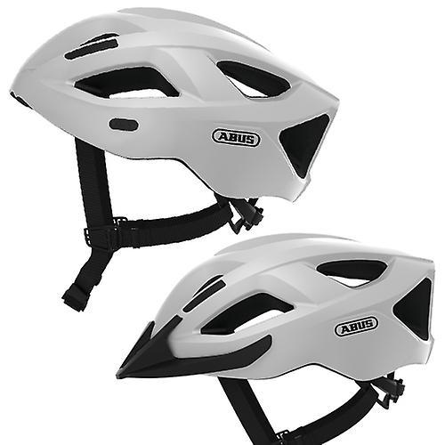 Casque de vélo abus Aduro 2.1     polaire blanc