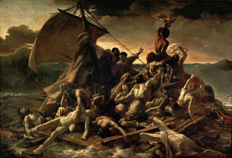 The Raft of the Medusa, Theodore Gericault, 40x60cm with ...