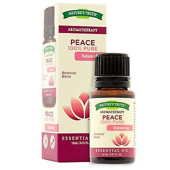 Nature's truth aromatherapy essential oil blend, peace, 0.51 oz