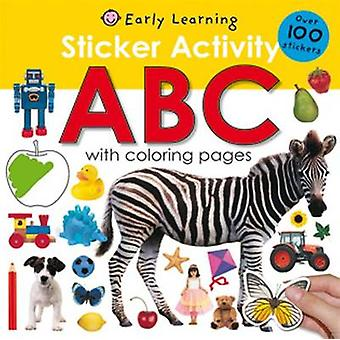 Sticker Activity - ABC by Priddy Books - 9780312504830 Book
