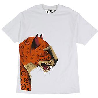 LRG Panther Knit T-Shirt White