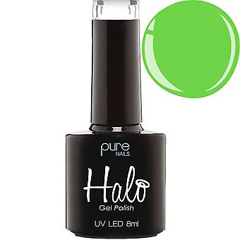 Halo Gel Nails LED/UV Halo Gel Polish Collection - Neon Green 8ml (N2833)