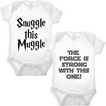 Movie double pack babygrow