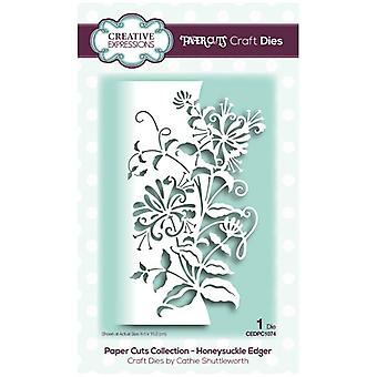 Creative Expressions Die Honeysuckle Edger | Paper Cuts Collection