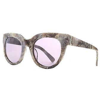 Gafas de sol Francesa Connection Premium Modern Cat-Eye - Grey Marble