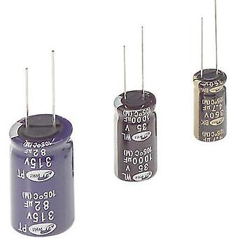 Electrolytic capacitor Radial lead 2.5 mm 1 µF 10