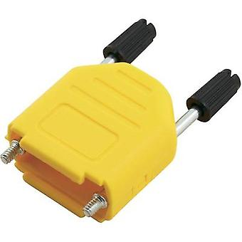 D-SUB housing Number of pins: 37 Plastic 180 ° Yellow