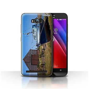 STUFF4 Custodia/Cover per Asus Zenfone Max ZC550KL/Boathouse/British costa