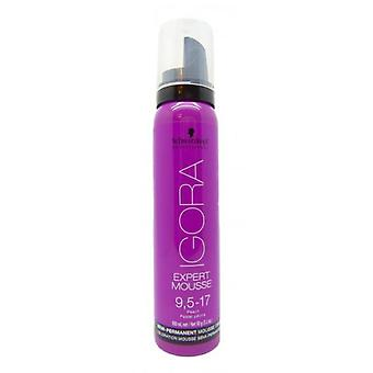 Schwarzkopf Professional Igora Expert Mousse 9.5 to 17 100Ml.