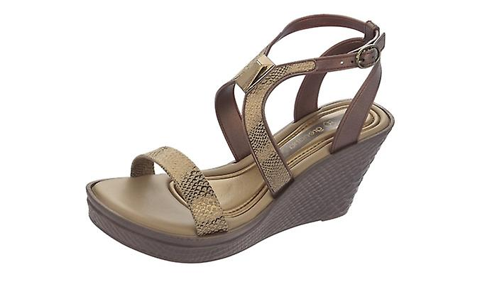Bronze Snake Grendha Flip Wedge Sandals Flops Allure Womens gpU7T