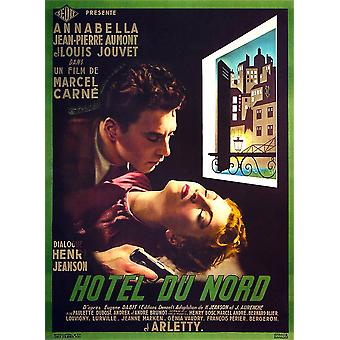 Hotel Du Nord French Poster Art From Top Jean-Pierre Aumont Annabella 1938 Movie Poster Masterprint