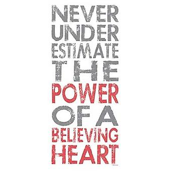 Believing Heart Poster Print by  Stephanie Marrott