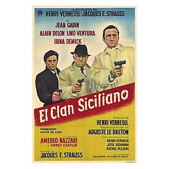 The Sicilian Clan Movie Poster (11 x 17)