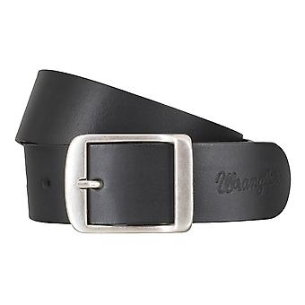 WRANGLER belt leather belts men's belts black 4777