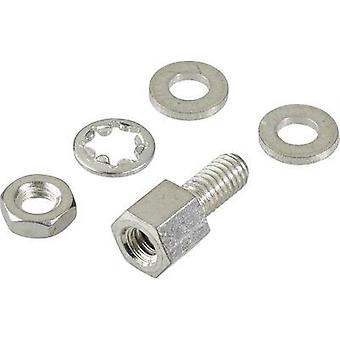 Mounting bolt FCI D-SUB 1 pc(s)