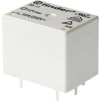 PCB relays 48 Vdc 10 A 1 change-over Finder 36.11.9.048.0000 1 pc(s)