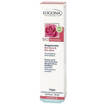 Logona Bio Eye Contour Cream Rosa (Woman , Cosmetics , Skin Care , Eyes and lips)