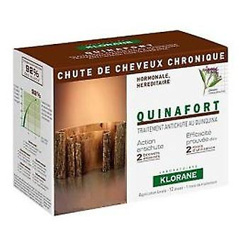 Klorane Quinafort Chronicle Fall 12 Amp (Beauty , Hair care , Anti-Hair Loss)