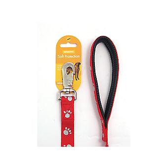 Reflective Soft Protection Nylon Padded Lead Red 40 X 3/4