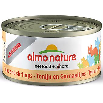 Almo Nature Hfc Natural Cat Adult Tuna & Shrimp 70g (Pack of 24)