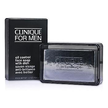 Clinique Oil Control Face Soap with Dish - 150g/5.2oz