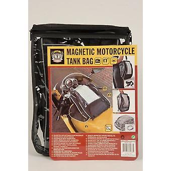 Magnetisk Motorcykel Tank väska 21ltr med bär Strap avtagbar vattentät