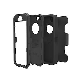 OtterBox Defender Series Apple iPhone 5s-Protection for mobile phone-sturdy polycarbonate, synthetic rubber-Black/Black-