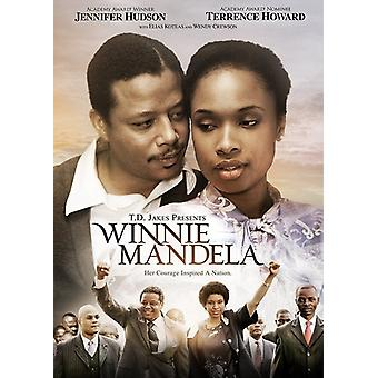Winnie Mandela [DVD] USA importerer