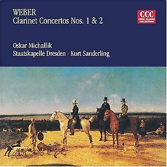 C.M.Von Weber - Weber: Klarinet koncerter nr. 1 & 2 [CD] USA import