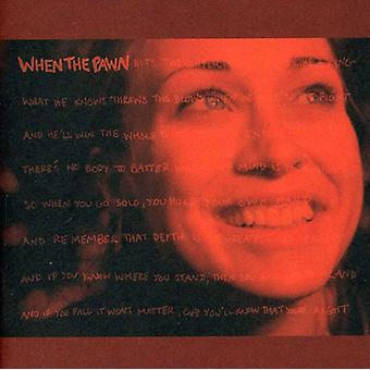 Fiona Apple - wanneer de pion [CD] USA import