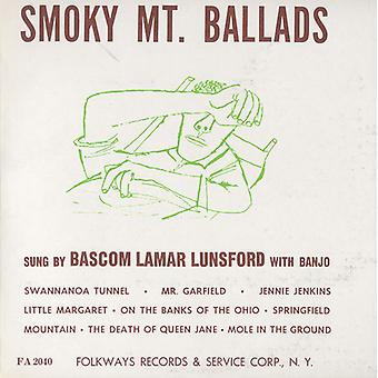 Bascom Lamar Lunsford - Smoky Mountain baladas [CD] USA importar