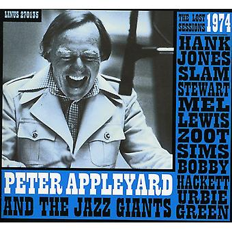 Peter Appleyard - Lost 1974 Sessions W/Hank Jones Slam st [CD] USA import