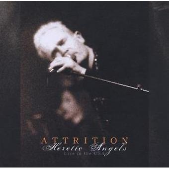 Attrition - Heretic Angels Live in the Usa [CD] USA import