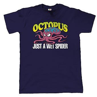 Octopus Mens grappig T Shirt