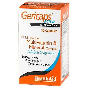 Health Aid Active Gericaps 30cap. Health Aid (Vitamins & supplements , Multinutrients)
