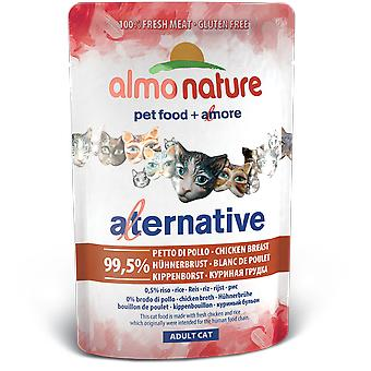 Almo nature Alternative Pouch Pechuga de Pollo (Cats , Cat Food , Wet Food)