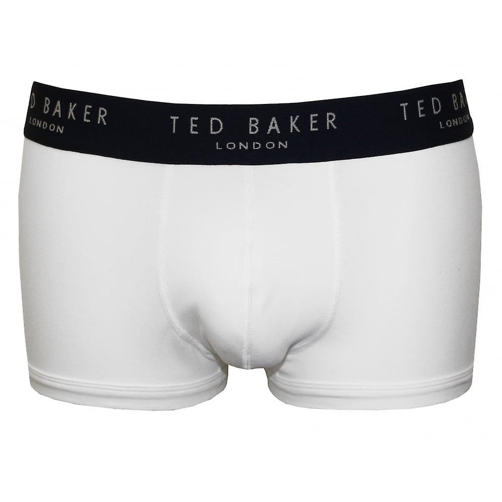 Ted Baker 3-Pack Contrast Waist Boxer Trunks, White