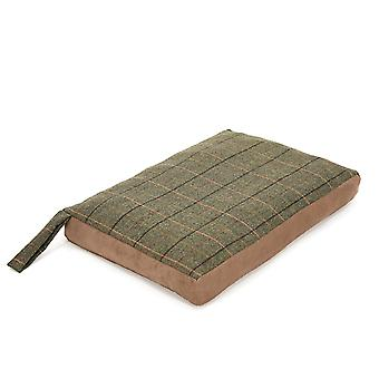 Tweedmill Tweed Home Dog Bed With Suede Base - 12/Chocolate