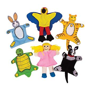 Bigjigs Toys Haustiere Finger Puppets