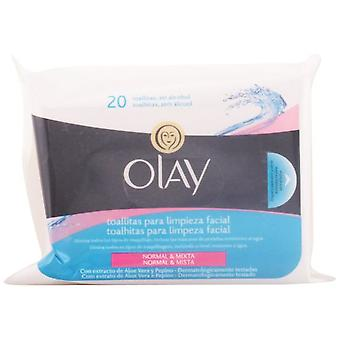 Olay Essentials Wipes 20 Normal (Woman , Cosmetics , Skin Care , Facial Cleansing)