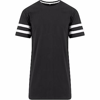 Build Your Brand Unisex Stripe Jersey Short Sleeve T-Shirt