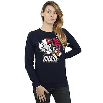 Tom And Jerry Women's Cat & Mouse Chase Sweatshirt