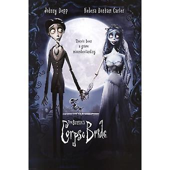 Corpse Bride - Film Teaser Poster Plakat-Druck