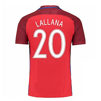 2016-17 Angleterre maillot (Laflamme 20) - Kids
