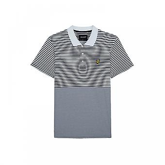Lyle & Scott Lyle & Scott Mens Stripe Polo Shirt