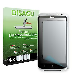 HTC X325E screen protector - Disagu tank protector protector (deliberately smaller than the display, as this is arched)