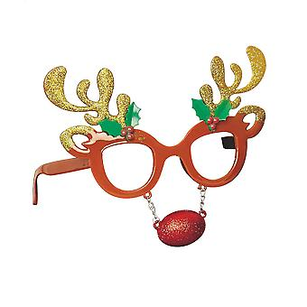 Christmas Shop Unisex Novelty Glasses