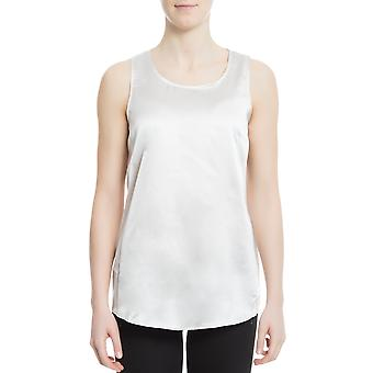 Snobby sheep women's 18510060 white silk tank top