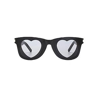 Saint Laurent SL 51 HEART Sunglasses In Black